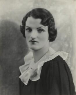 Beatrice Helen Eden (née Beckett), by Bassano Ltd - NPG x84152