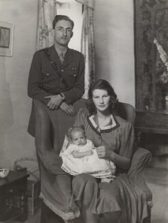 The Marquess and Marchioness of Reading with their son, by Bassano Ltd, 18 July 1942 - NPG x84165 - © National Portrait Gallery, London