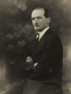 Hon. (Edward) Gerald French, by Bassano Ltd - NPG x84188