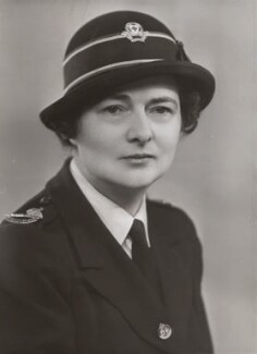 Alexandra Maud Fawcus (née James), by Bassano Ltd, April or May 1941 - NPG x84217 - © National Portrait Gallery, London