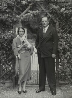 Esther Sarah (née Whitmey), Lady Fairey; Sir (Charles) Richard Fairey, by Bassano Ltd - NPG x84226