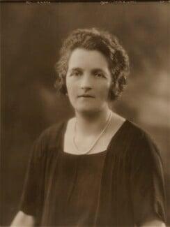 Lady Anna Davis-Goff (nee Hassard), by Bassano Ltd - NPG x84235