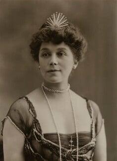 Constance Gertrude Lilian (née Everett), Lady Cozens-Hardy, by Bassano Ltd - NPG x84290