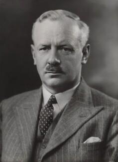 Sir Arthur Travers ('Bomber') Harris, 1st Bt, by Bassano Ltd - NPG x84305