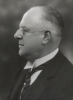 Sir George Gibson Mitcheson, by Bassano Ltd - NPG x84378