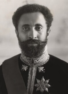 Haile Selassie I, Emperor of Ethiopia, by Bassano Ltd - NPG x84381