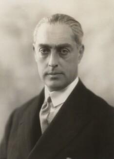 Sir Frank Cecil Meyer, 2nd Bt, by Bassano Ltd - NPG x84388