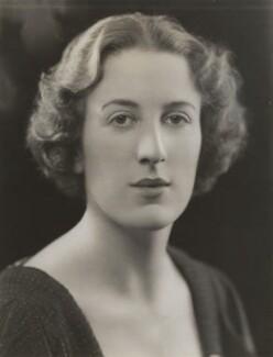 Betty Miller (née Spiro), by Bassano Ltd - NPG x84393