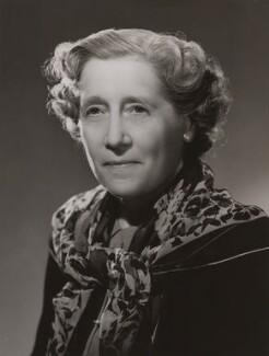 Lady Adelaide Margaret ('Delia') Peel (née Spencer), by Bassano Ltd - NPG x84463