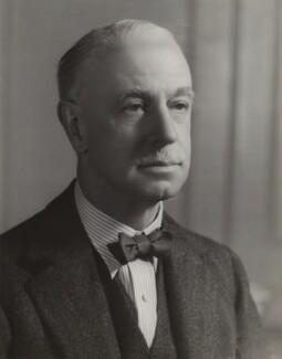 (James) Eric Drummond, 16th Earl of Perth, by Bassano Ltd - NPG x84486