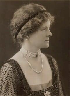 Marguerite Cecil Norton (née Huntington), Lady Rathcreedan, by Bassano Ltd - NPG x84547
