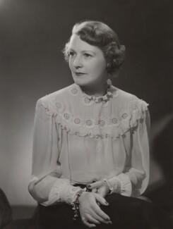 Bessie Ford Taylor (née Emmatt), Lady Rawlinson, by Bassano Ltd - NPG x84557