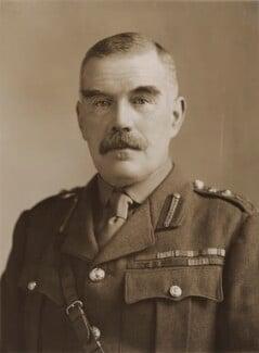 Sir William Robert Robertson, 1st Bt, by Bassano Ltd - NPG x84583