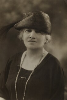 Maud Mosher Robertson, by Bassano Ltd - NPG x84590