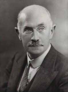 Sir (William) Arthur Robinson, by Bassano Ltd - NPG x84595