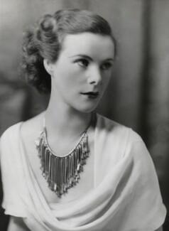 Anne Parsons (née Messel), Countess of Rosse, by Bassano Ltd - NPG x84627