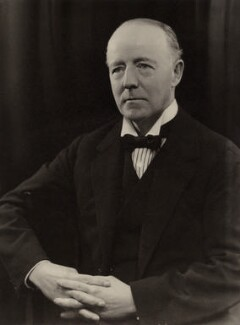Walter Runciman, 1st Viscount Runciman of Doxford, by Bassano Ltd, 12 March 1935 - NPG x84644 - © National Portrait Gallery, London