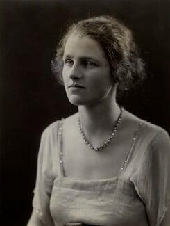 Dorothy Evelyn Francis (née Ryder), Lady Ross, by Bassano Ltd - NPG x84682