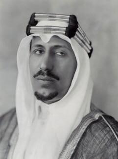 Saud bin Abdul Aziz, King of Saudi Arabia, by Bassano Ltd - NPG x84705