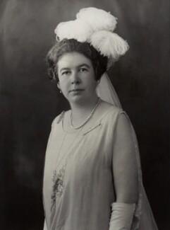 Edith Mary (née Parker), Duchess of Somerset, by Bassano Ltd - NPG x84719