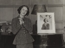 Nadine Muriel (née Crofton), Countess of Shrewsbury, by Bassano Ltd - NPG x84757