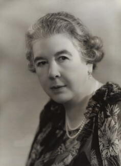 Edith Mary (née Parker), Duchess of Somerset, by Bassano Ltd - NPG x84813