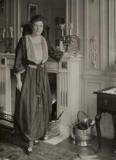 Grace Lowrey (née Woodruff), Lady Ashfield, by Bassano Ltd, 22 February 1919 - NPG x84853 - © National Portrait Gallery, London