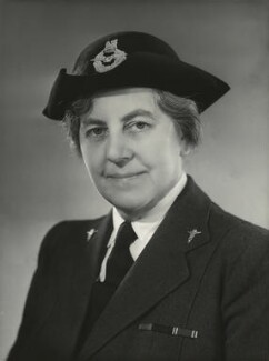 Dame Gladys Taylor, by Bassano Ltd - NPG x84893