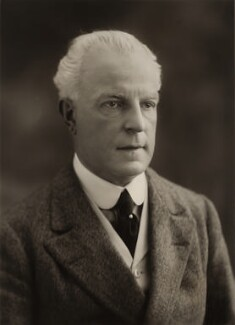 Sir Alfred Aspinall Tobin, by Bassano Ltd - NPG x84906