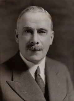George Clement Tryon, 1st Baron Tryon, by Bassano Ltd - NPG x84930