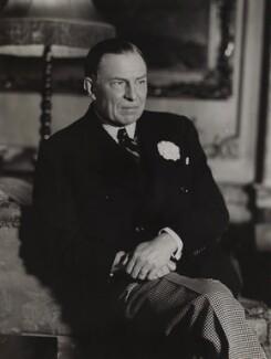 Robert Gilbert Vansittart, Baron Vansittart, by Bassano Ltd - NPG x84969