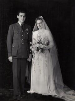 Charles Ronald Driver; Anne Frances Driver (née Wilshaw), by Bassano Ltd - NPG x85068