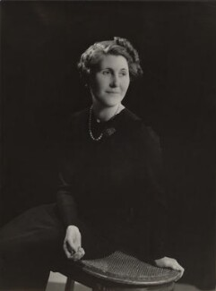Hon. Marie Immaculée Antoinette Woodruff (née Lyon-Dalberg-Acton), by Bassano Ltd - NPG x85090