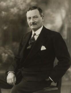Sir Leslie Orme Wilson, by Bassano Ltd - NPG x85110