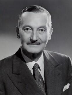 Sir Leslie Orme Wilson, by Bassano Ltd - NPG x85111