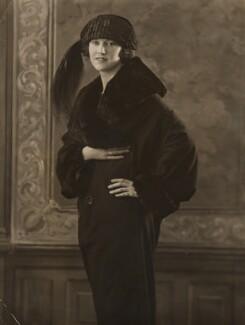 Sylvia Leslie, by Bassano Ltd - NPG x85134