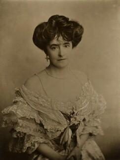 Lucy Christiana (née Sutherland), Lady Duff Gordon, by Bassano Ltd, 1904 - NPG x85153 - © National Portrait Gallery, London