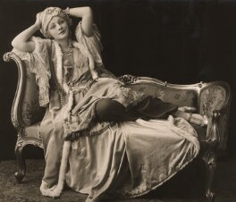 (Elsie) Evelyn Laye as a terrible Turk in 'Madame Pompadour', by Bassano Ltd - NPG x85154
