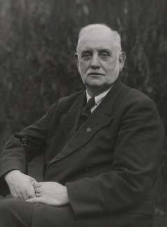 George Lansbury, by Bassano Ltd - NPG x85162
