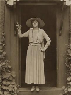 Violet Loraine, by Bassano Ltd, 1917 - NPG x85192 - © National Portrait Gallery, London