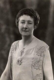 Mary (née Holden), Lady Lowe, by Bassano Ltd, 1924 - NPG x85209 - © National Portrait Gallery, London