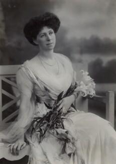 Emmeline Augusta Louisa (née de Rutzen), Lady Newnes, by Bassano Ltd - NPG x85291