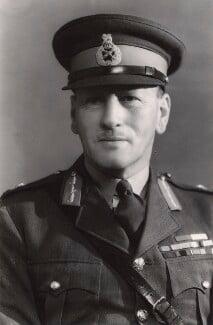 Sir Claude Auchinleck, by Bassano Ltd - NPG x85319