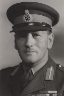 Sir Claude Auchinleck, by Bassano Ltd - NPG x85320