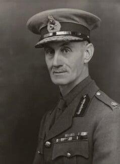 Sir Henry Cholmondeley Jackson, by Bassano Ltd - NPG x85371