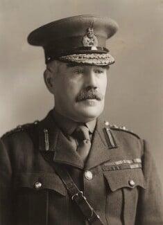 Sir William Robert Robertson, 1st Bt, by Bassano Ltd - NPG x85385