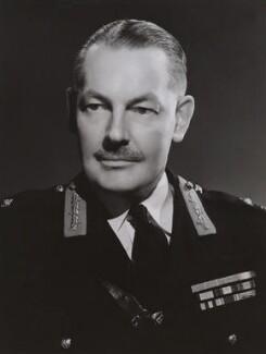 Sir Leslie Chasemore ('Jo') Hollis, by Bassano Ltd - NPG x85391