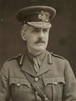 Sir Fabian Arthur Goulstone Ware, by Bassano Ltd - NPG x85421