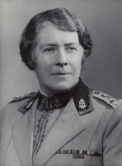 Dame Katharine Henrietta Jones, by Bassano Ltd - NPG x85460