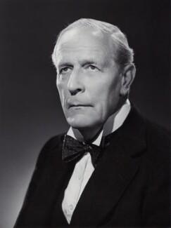 William Allen Jowitt, 1st Earl Jowitt, by Bassano Ltd, circa 1950 - NPG x85469 - © National Portrait Gallery, London